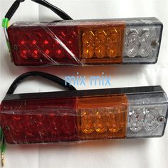Automobiles & Motorcycles Humble 20 Leds 12v Waterproof Lights Truck Led Tail Light Lamp Yacht Car Trailer Taillight Reversing Running Brake Turn Be Novel In Design Truck Light System