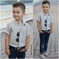 10 Photos for People Who Dressing Kids Like Adults in an Awesome Trend EveSteps Kids Hairstyles Boys, Cool Boys Haircuts, Toddler Boy Haircuts, Baby Boy Hairstyles, Little Boy Haircuts, Toddler Boy Fashion, Little Boy Fashion, Toddler Boy Outfits, Kids Fashion Boy