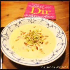 Radieschen-Kartoffel-Suppe, Radish potato soup, my yummy projects foodblog