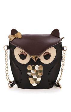 Cute Owl-shaped Single Shoulder Bag
