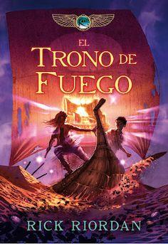Saga: La familia kane  Nombre: El trono de fuego Número: 2