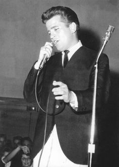 "Johnny Burnette. I remember his rendition of the song ""You're sixteen"""