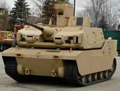 New US Army GCV prototype. GCV program most likely will be cancelled.