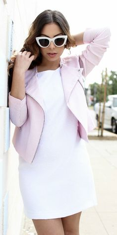 Pale Pink And White Styling