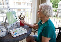 Brightview Senior Living Resident Painting