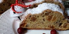 szafi-free-glutenmentes-vegan-stollen Banana Bread, French Toast, Vegan, Dinner, Breakfast, Cake, Christmas, Food, Dining