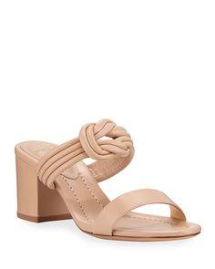 Shoes Heels, Pumps, Alexandre Birman, Designer Heels, Slide Sandals, Wedding Shoes, Block Heels, Product Launch, Leather