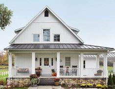 90 incredible modern farmhouse exterior design ideas (83)