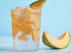 Cantaloupe-Infused Water : This sweet sip doesn't need much doctoring up. Simply add thin slices of ripe melon to a frosty glass of ice water for one of summer's most-refreshing treats.