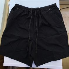 Lord & Taylor shorts Lord & Taylor shorts. Elastic and drawstring a waste, two front pockets and flat back.inseam measures 7 1/4 inches Lord & Taylor Shorts