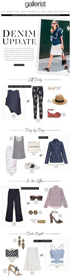 newsletter, fashion, layout, gallerist blog & shop, fashion, denim, jeans, looks, street style, tendência,