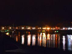 Easton PA/Phillipsburg NJ free bridge middle of the night March 2014