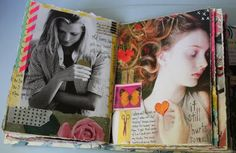 Kelly Kilmer Artist and Instructor: 12 April 2013 Journal Page