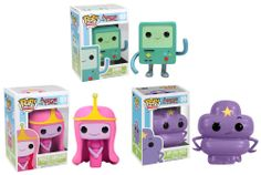 pop figures | Adventure Time Pop! Television Vinyl Figures by Funko - BMC, Princess ...