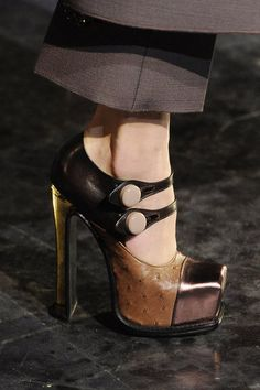 Louis Vuitton, honesty, my fave footwear designer, b/c of his shoes is why I sooooo love LV!  Polished Edge!!!