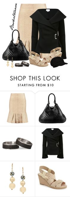 """Basketweave bag and shoes"" by lorrainekeenan ❤ liked on Polyvore featuring Marni, Cole Haan, Chilewich, Beaufille, Alexa Starr, André Assous and Accessorize"