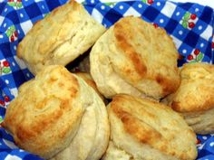 Made with baking powder, baking soda, buttermilk AND yeast, these biscuits are light and fluffy. Hot out of the oven with butter and honey, they are a winner!!!