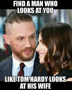 "Instagram: ""ACTUAL COUPLE GOALS  she's the lady I'd love to be but hell she makes him happy  #Tomhardy…"""