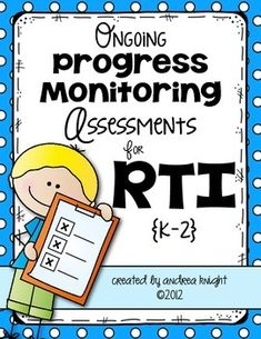 This 54-page download includes several assessments to help you track the progress of your students who are struggling to meet the expectations in reading and language arts. $ #RTI
