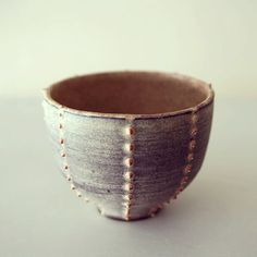 Ceramics by Leili Towfigh at Studiopottery.co.uk - Sea-urchin cup