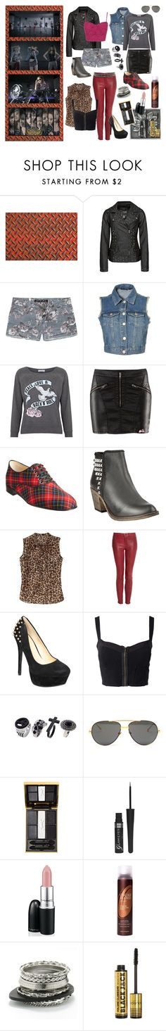 """SNSD ""Bad Girl"" Inspired Look - Rock Goddess'"" by migeeringler ❤ liked on Polyvore featuring BKE, Celebrity Pink, Topshop, Delicious Couture, Christian Louboutin, Steve Madden, Old Navy, J Brand, Three Little Words and Linda Farrow Luxe"