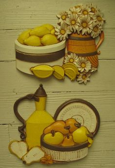 syroco wall plaques homeco kitchen plaques by rivertownvintage