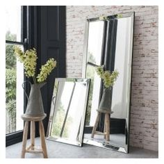 This full length beveled glass framed large venetian leaner mirror is a contemporary full length mirror that would look fabulous in your living space Beveled Mirror, Beveled Glass, Freestanding Mirrors, Leaner Mirror, Vintage Mirrors, Home Decor, Wall Mirror, House Ideas, Interior Ideas