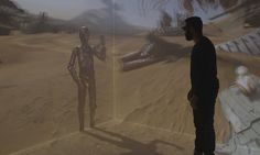 Whether they're letting you walk on Star Wars' planet Jakku or experience what it's like to be bombed, film-makers are embracing immersive technology