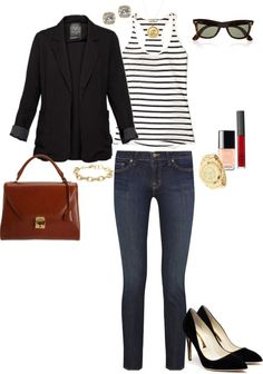 """""""Casual Chic"""" by angela-reiss on Polyvore"""