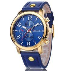 2016 CURREN Luxury Casual Men Watches Analog Military Sports Watch Quartz Male Wristwatches