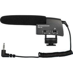 Sennheiser MKE 400 Compact Video Camera Shotgun Microphone Photography  Gear f7c63c746767