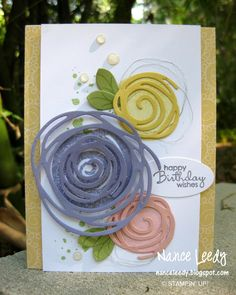 "Canopy Crafts: Swirly Bird Sneak Peek PP294. ""Swirly Scribbles"" Stampin'Up"