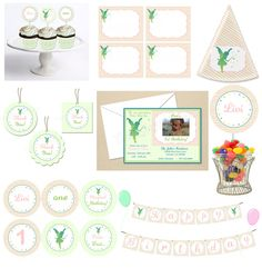 Pixie Dust Fairy Party Starter COLLECTION by TheDigiButterflyPRTY