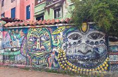 Street art in Bogotá, Colombia