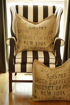 j kalachand sofa ikea klippan covers uk 13 best interior design images these burlap pillows add texture and dress down the formal chair a bit love