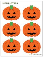 Free Small Medium And Large Jack O Lantern Templates To Color Use For Crafts Other Halloween Activities