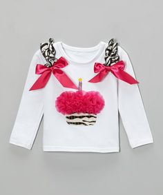 This White Cupcake Tee - Infant & Toddler is perfect!