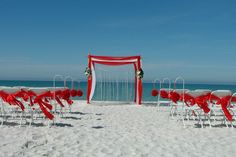 Red decor from floridaweddings.com #wedding #beachdecor #destinationwedding #weddings #love #weddingplanner #weddinginspiration #weddingphotography #weddingceremony #weddingplanning #beach #dreamwedding #weddingphotographer #outdoorwedding #weddingdestination #weddingseason #weddingideas #islandwedding #weddinginspo #ido #floridaweddings #red