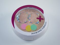 Physicians Formula Super CC+ Powder in Light. This is very light and white-ish on my light beige skin. It's pretty much unwearable, in my opinion. I don't know why it's so light on my skin, since the powder is primarily beige. I'm confused about this product. Unless you're extremely pale, I'm not sure if this would work for you.