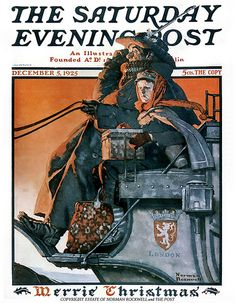 1925 ... Coach To London- Norman Rockwell