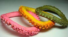 octopus bangles, via Flickr.