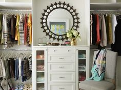 The 2015 Charlottesville Idea House: The Master Closet offers fresh ideas to stay organized with style.