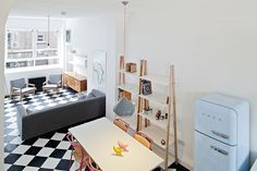Looking for small living room ideas? The best small living room designs from the House & Garden archive. Small Apartment Furniture, Small Apartment Living, Furniture For Small Spaces, Decorating Small Spaces, Small Apartments, Living Room Furniture, Decorating Ideas, Living Room And Kitchen Design, Small Space Living Room