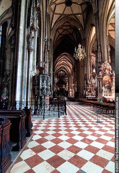 St Stephens Cathedral. Vienna, Austria
