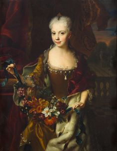 Archduchess Maria Anna, sister of Empress Maria Theresa, who died as a young woman at age twenty-six.