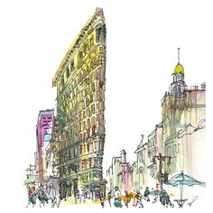 NYC Flatiron Building - An Icon!