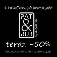 Puk, puk, to wchodzi nowa oferta - minus 50%. Tylko dziś, 29.09, do północy! Grab these bargains right now with 50% off!!! Ends at midnigh.  #sales #cosmetics #kosmetyki #promocje