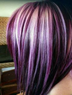 Beautuful hair color! Wow, I love it so much!!!
