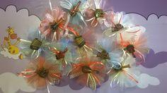 Sacchettini porta confetti in tulle con calamita decorativa