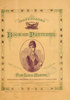 Illustrated book of patterns for lace making Illustrated book of patterns for lace making Knitting Books, Crochet Books, Vintage Knitting, Lace Knitting, Bobbin Lace Patterns, Sewing Patterns, Loom Patterns, Doily Patterns, Lace Making
